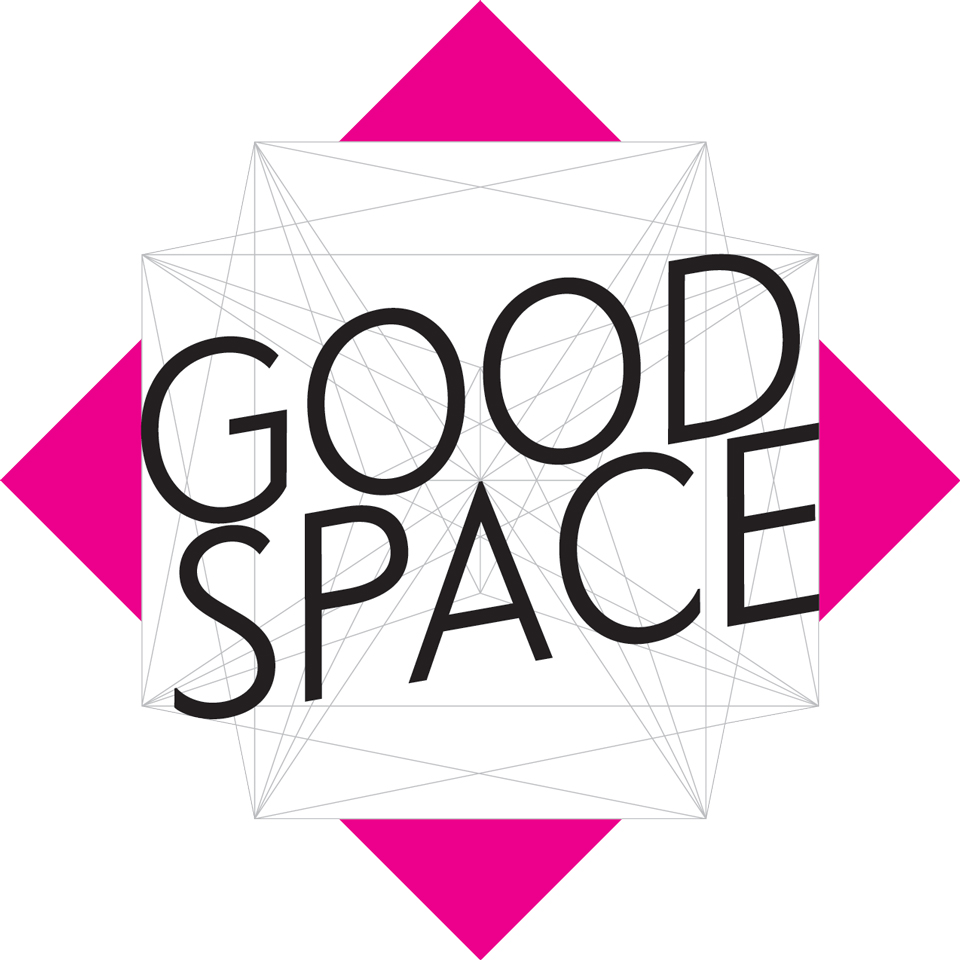 GOOD SPACE Logo magenta
