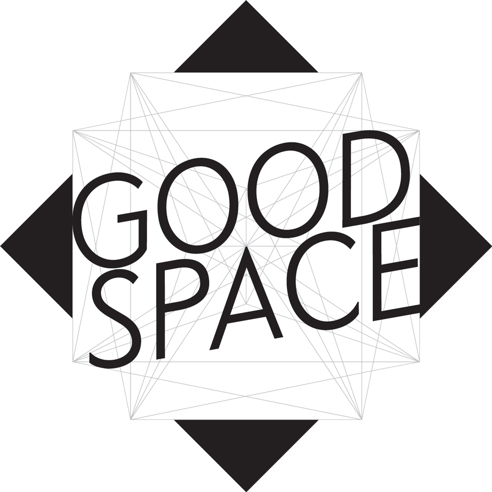 GOOD SPACE Logo schwarz